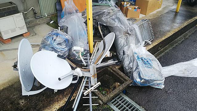 豊田市『引っ越しに伴う不用品の回収』